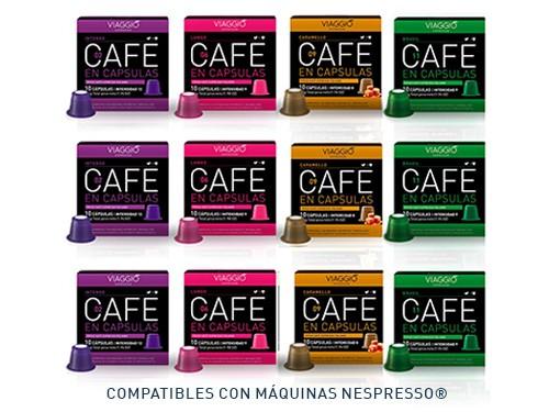 Cápsulas de café natural Lo más buscado 120 cápsulas Viaggio Espresso