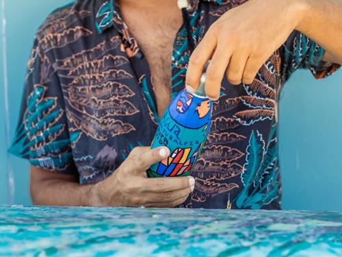 Botella térmica reutilizable Pura Honu 750ml Milo Lockett