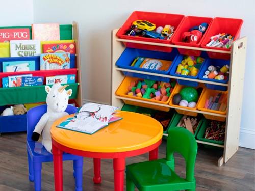 Estanteria Organizadora De Juguetes 12 Cajones De Colores
