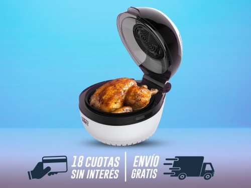 Molino - Cociná con aire caliente sin aceite.