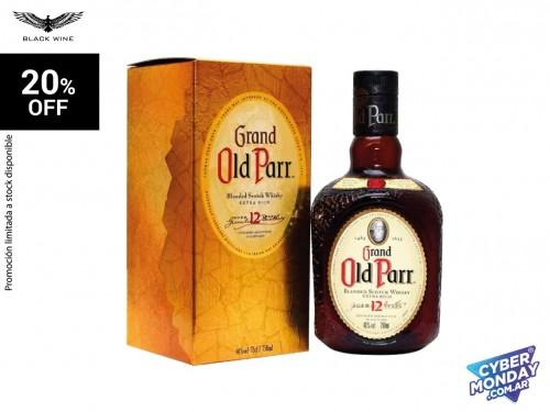 Old Parr 12 Yo. Blended Scotch 750 ml.