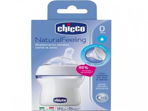 Mamadera Natural Feeling 0 m+ Flujo Normal x 150 ml