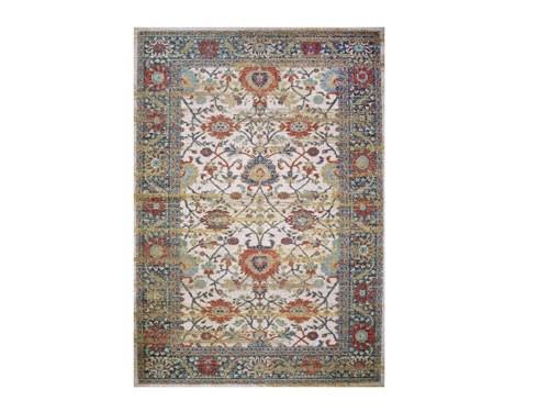 Alfombra Vintage Multicolor -200x300cm- ¡70%OFF!-ENVÍO GRATIS- BAZHARS
