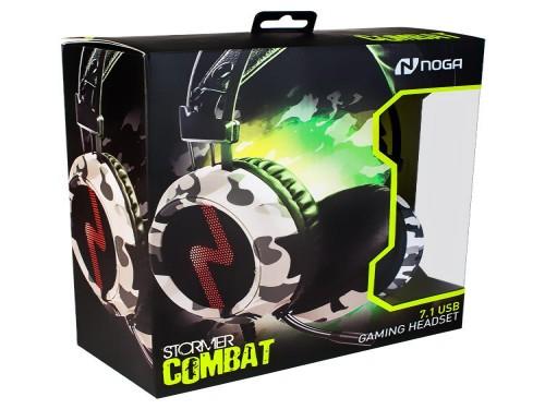 AURICULARES GAMER 7.1 CON MICRÓFONO ST-COMBAT NOGA NET